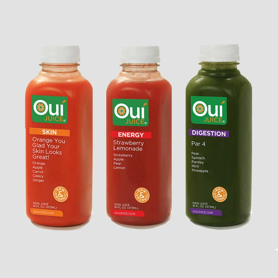 segue creative oui-juice pressed juice